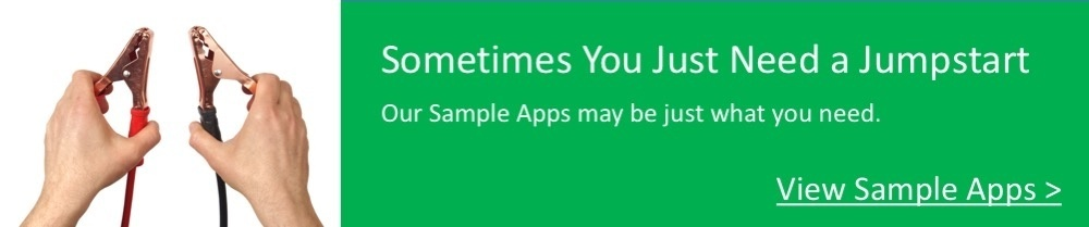 Get a Jumpstart with our Sample Apps