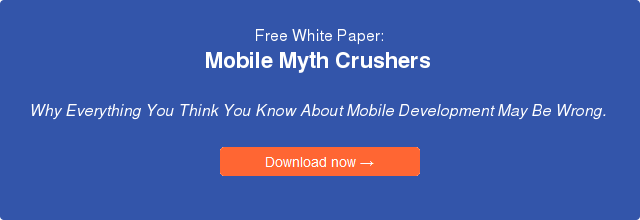 White Paper: Enterprise Business Mobile Apps