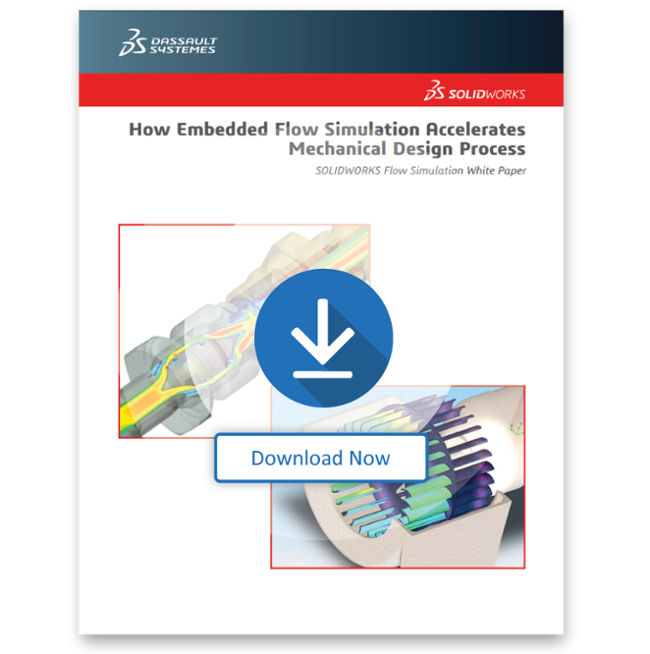 How Embedded Flow Simulation Accelerates Mechanical Design Process