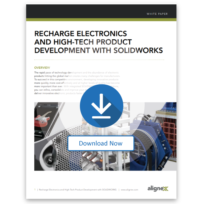 Recharge Electronics and High-Tech Product Development with SOLIDWORKS