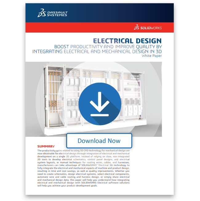 Integrating Electrical and Mechanical Design White Paper