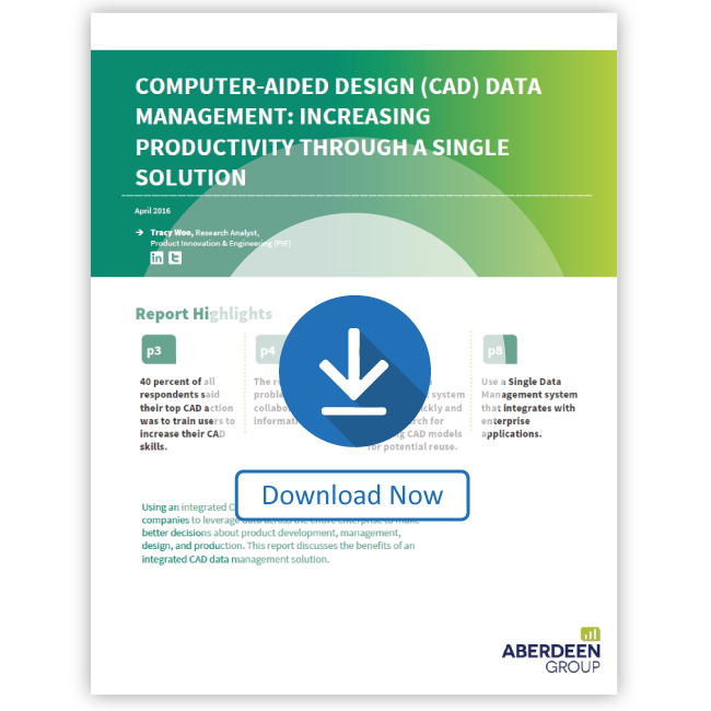 CAD Data Management: Increasing Productivity Through a Single Solution