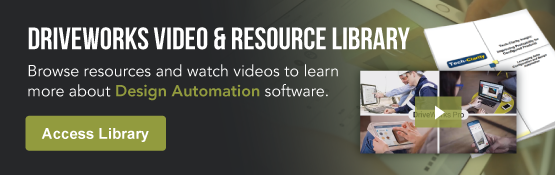 DriveWorks Design Automation Video & Resource Library - Alignex, Inc.