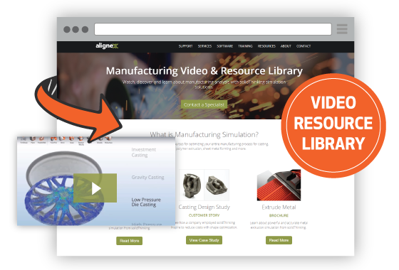 SOLIDWORKS Mfg Analysis Video & Resource Library