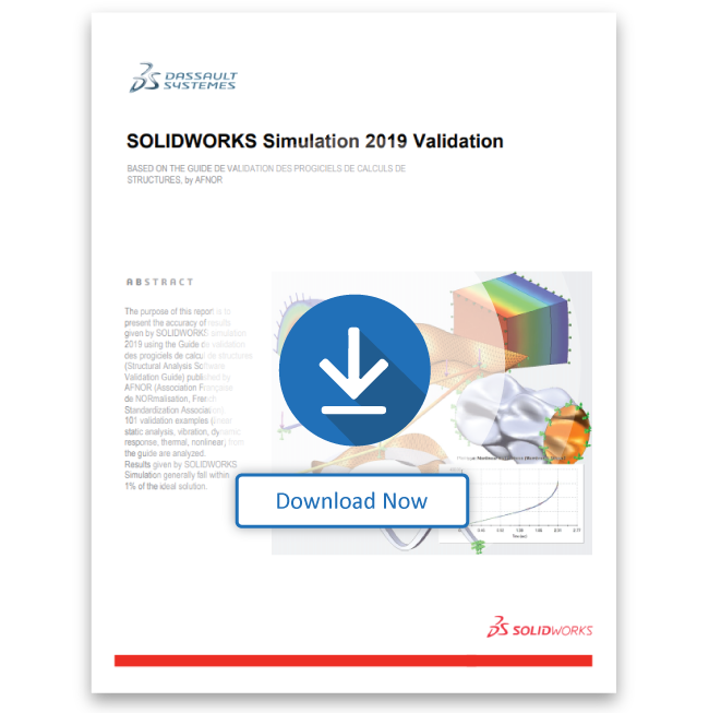 SOLIDWORKS Simulation 2019 Validation
