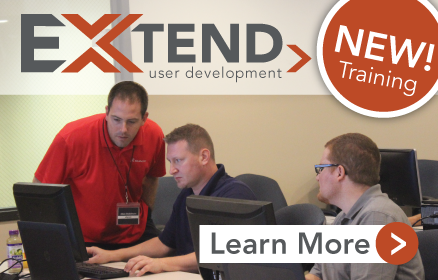 New EXTEND User Development Training