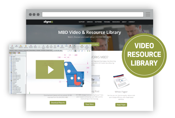 SOLIDWORKS MBD Video & Resource Library
