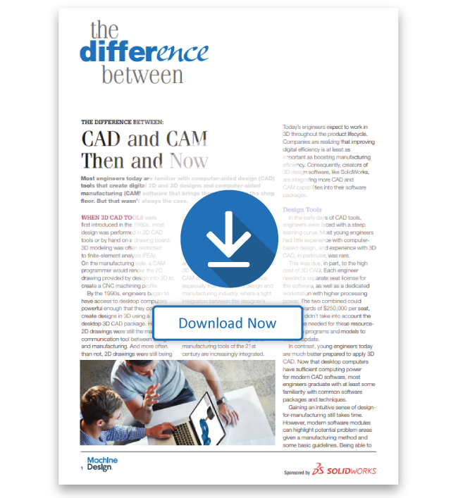 The Difference Between CAD and CAM Then and Now
