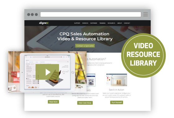 DriveWorks CPQ Sales Automation Video & Resource Library