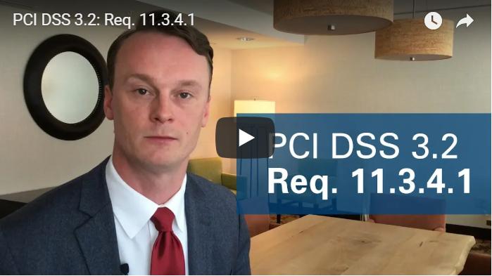PCI DSS 3.2 Req. 11.3.4.1