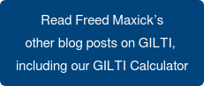 Read Freed Maxick's   other blog posts on GILTI,   including our GILTI Calculator