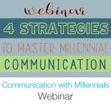 communicating with millennials webinar