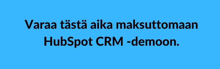 HubSpot CRM testi