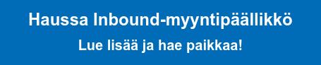 Haussa Inbound-myyntipäällikkö Lue lisää ja hae paikkaa!
