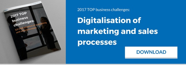 Digitalisation of marketing and sales processes