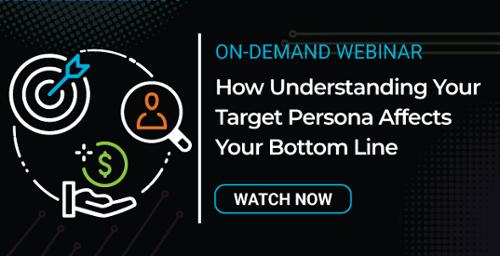 Target Persona Webinar