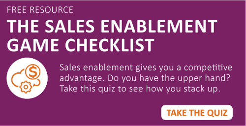 Sales Enablement Game Checklist