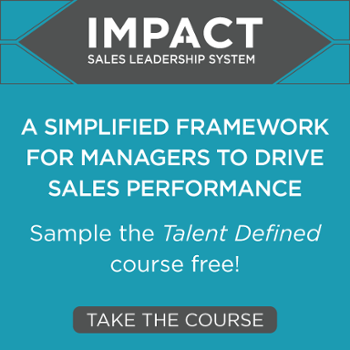 Impact Sales Leadership System - Talent Defined Course