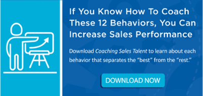 Coaching Sales Talent eBook