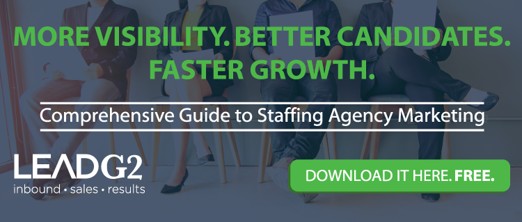 Download Guide to Staffing Agency Marketing