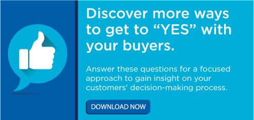 Gain insight on your customers' decision-making process.