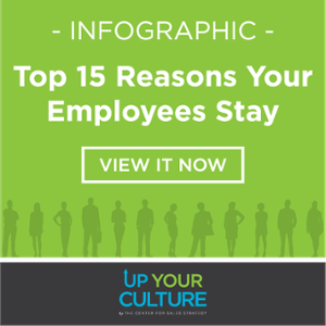 Infographic: Top 15 Reasons Your Employees Stay
