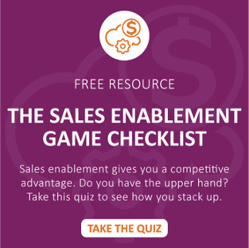 The Sales Enablement Game