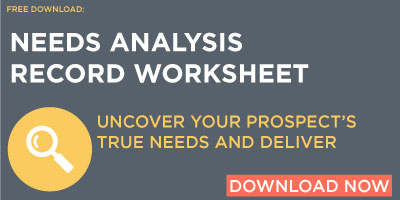 Free Download: Needs Analysis Record Worksheet