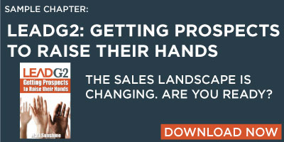 Download a sample chapter of LeadG2: Getting Prospects to Raise Their Hands
