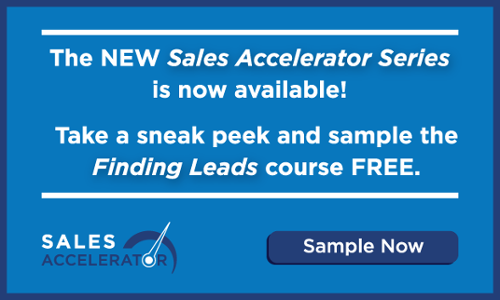 Sales Accelerator - Finding Lead Course Sample