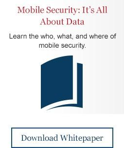 Mobile Security: It's All About the Data