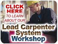 lead carpenter system workshop click here to learn more