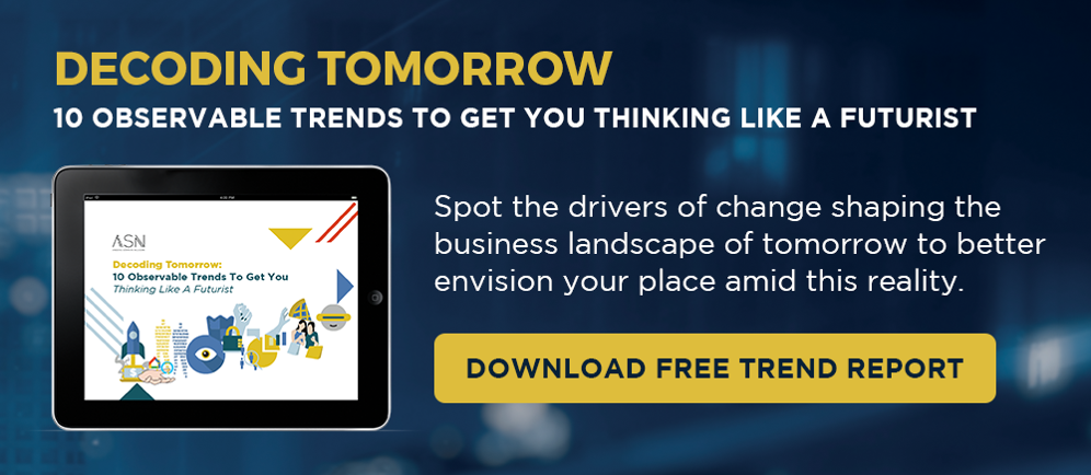 Decoding Tomorrow: 10 Observable Trends to Get You Thinking Like a Futurist