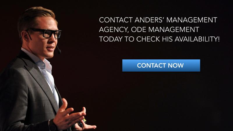Contact Futurist Anders' Management Agency