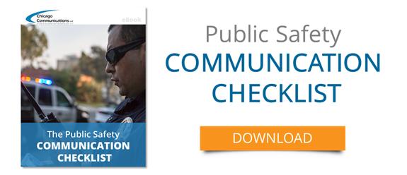 Public Safety Communication Checklist