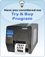 Try & Buy program for IntelliBar Mi Series Label Printers