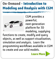 On-Demand - Introduction to Modeling and Analysis with CGM
