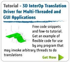 Tutorial - 3D InterOp TranslationDriver for Multi-Threaded and GUI Applications