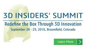 3D Insiders' Summit 2016