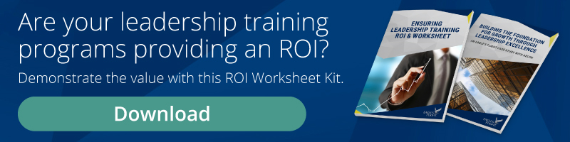 Ensuring Leadership Training ROI & Worksheet