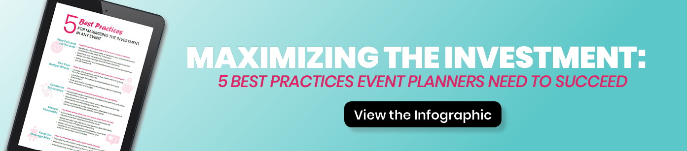Download Guide: 5 Best Practices for Maximizing the Investment in Any Event