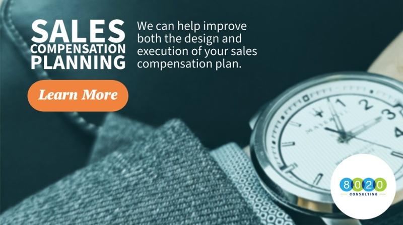 sales compensation planning services