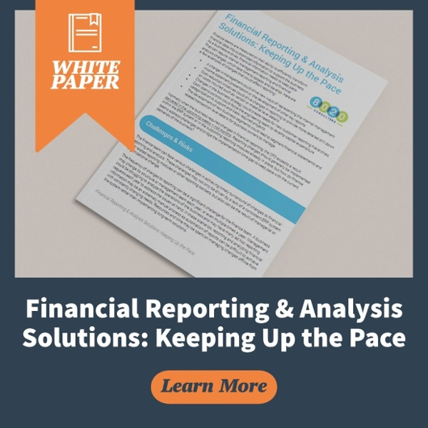 financial reporting and analysis solutions whitepaper