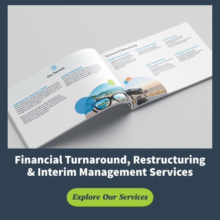 financial turnaround restructuring and interim management services
