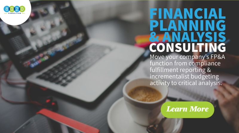 financial planning & analysis services
