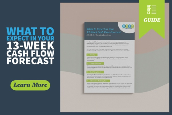13-week cash flow forecast guide