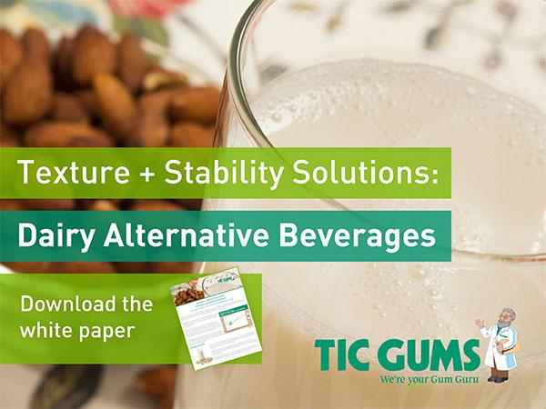 dairy alternative beverages white paper