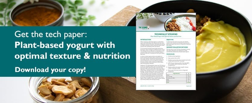 Download the white paper on plant-based yogurt