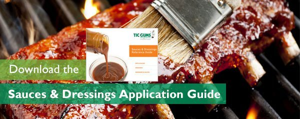 dressing & sauce application guide
