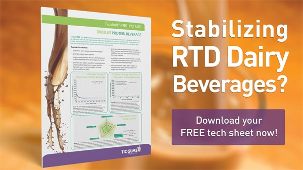 RTD Dairy Beverage Tech Sheet Download